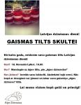 Latvijas dzimšanas dienā!  GAISMAS TILTS SKULTEI